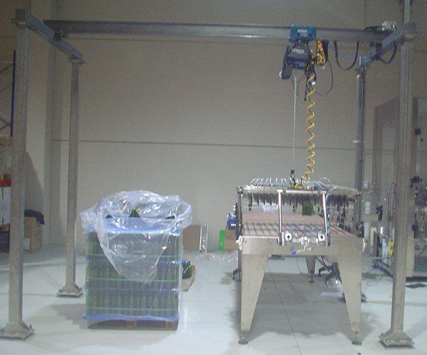 Despaletizador Semi Automático