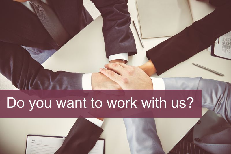 Do you want to work with us