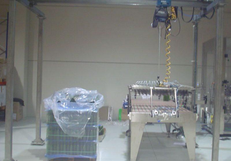 Despaletizadores Semiautomático